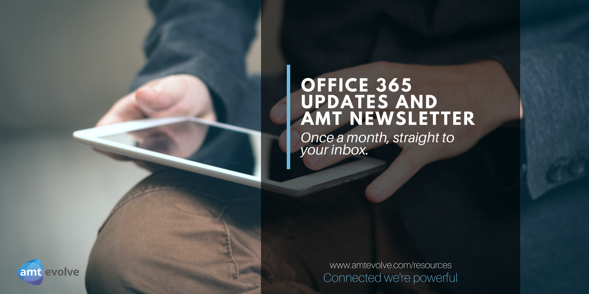 Office 365 May Updates