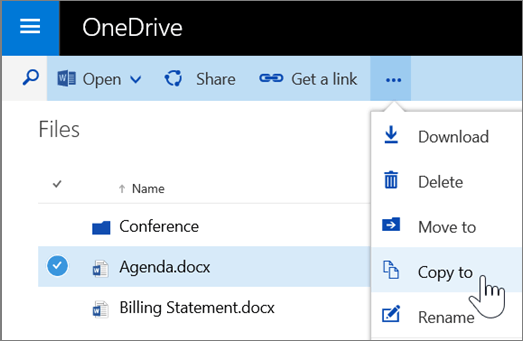 Copy from OneDrive To SharePoint