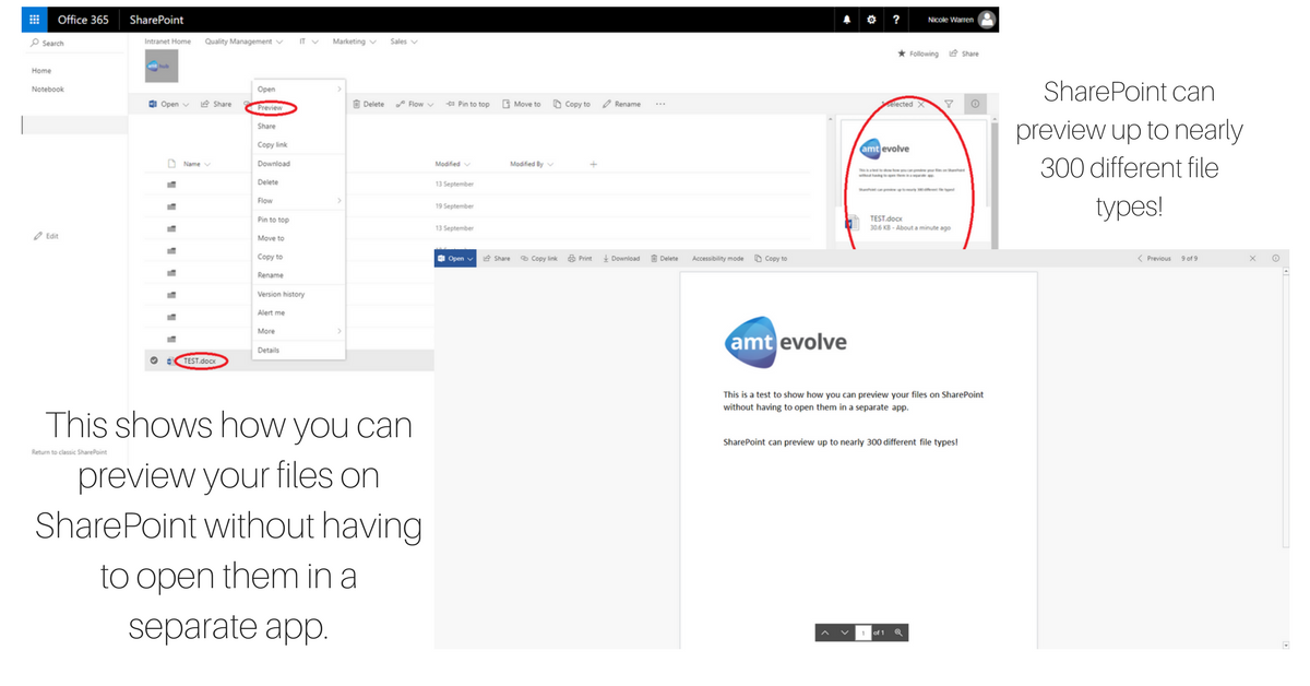 SharePoint File Viewer