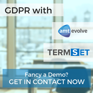 GDPR AMT Evolve and Termset
