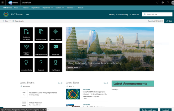 modern-experience-sharepoint-intranet